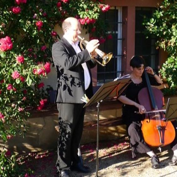 """Duo Violoncello und Trompete """"Die linden Lüfte sind erwacht"""""""