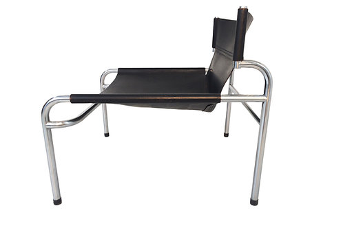 Walter Antonis 't Spectrum  leather sling chair