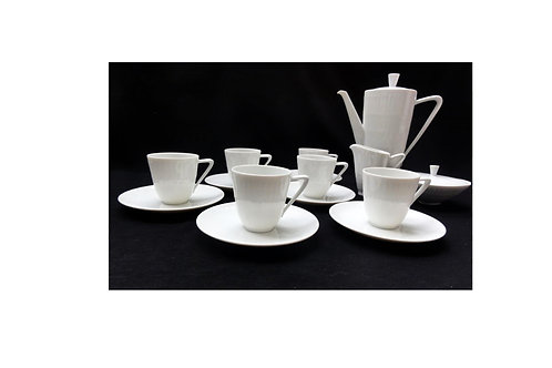 Vintage Mid-century coffee set by Hans Achtziger for Hutschenreuther Selb