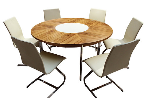 Merrow Associates dining table and chairs