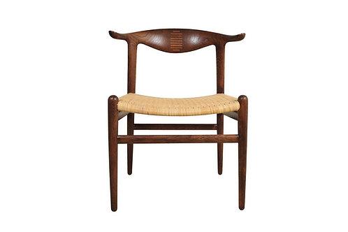 Hans Wegner Mid-century JH 505 'cowhorn' chair