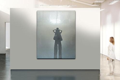 Peter Eastman shadow painting