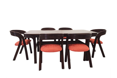 Jan des Bouvrie for Rohé - Dining Table & Chairs