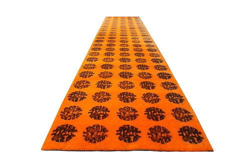 Mid-century wool rug by Hojer Eksport Wilton
