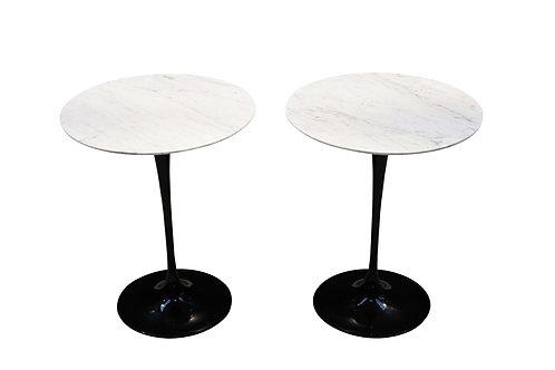 Eero Saarinen tulip side tables