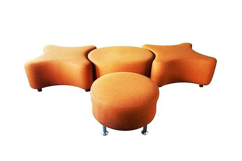 Set of 4 Hitch Mylius hm61 'OXO' stools