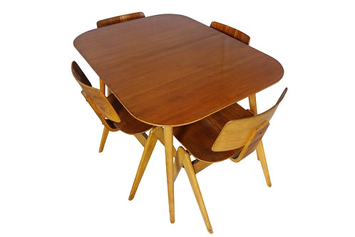 Robin Day chairs and table