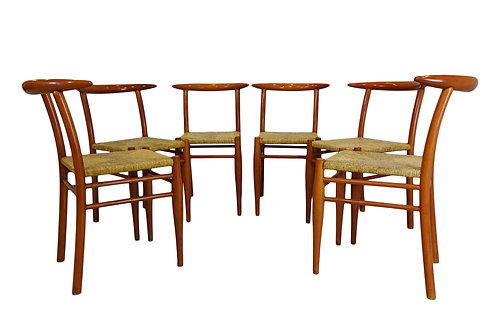 6 Philippe Starck Dining Chairs