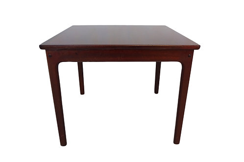 1960's mahogany Mid-century modern Danish coffee/side table by Ole Wanscher