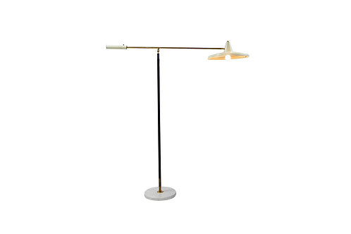 1950s Mid-century Italian Stilnovo floor light