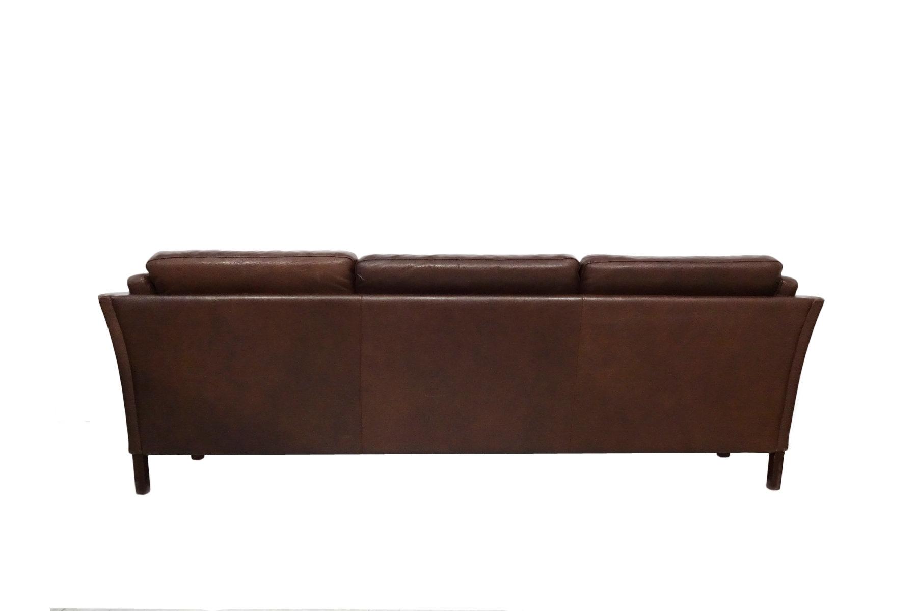 Danish Mid Century Sofa By Mogens Hansen