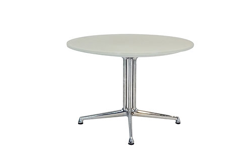 La Fonda Eames and Vitra opaque glass coffee/side table