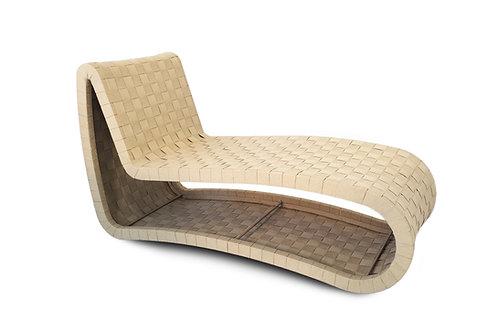 Mid-century Modern Scandinavian chaise longue