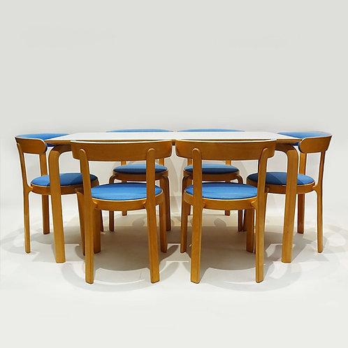 Alvar Aalto style table