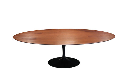 Vintage Saarinen Walnut tulip table
