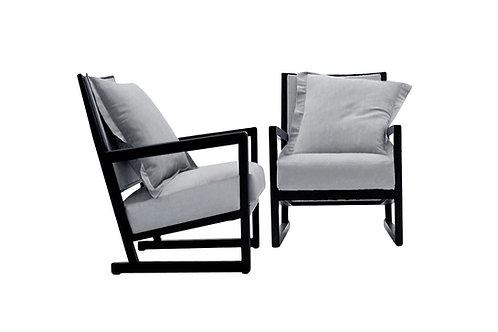 B&B Italia Clio lounge chairs