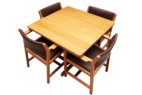 Borge Mogensen dining table and chairs