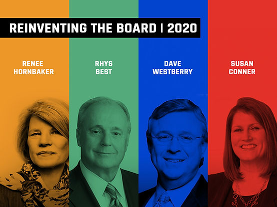 REINVENTING THE BOARD 2020
