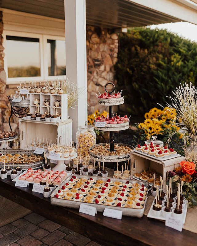 Dessert Tables create an interactive, un