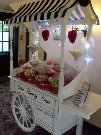 Sweet Cart ready for customers