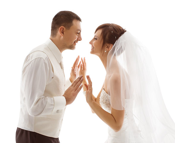 Bride and Groom Portrait, Wedding Couple