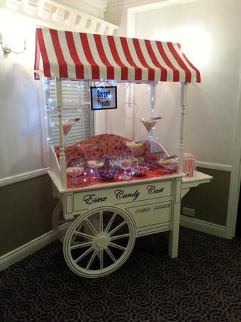 Birthday sweet cart