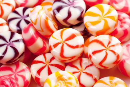 coloured sweet treats
