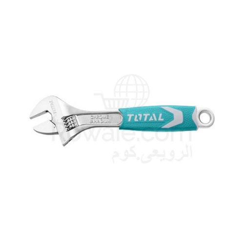 Total THT101066 Adjustable Wrench  150mm 6˝ | مفتاح فرنساوي يد عازلة 6 بوصة