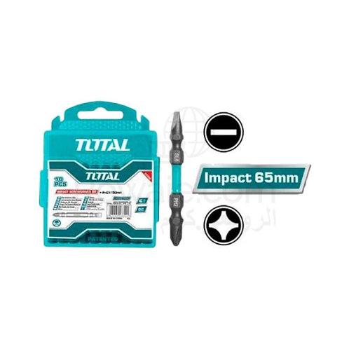 TOTAL TACIM16HL133 Impact Bit 1pcs 65mm|لقمة فك و ربط صليبة و عادة تصادمية 65 مم