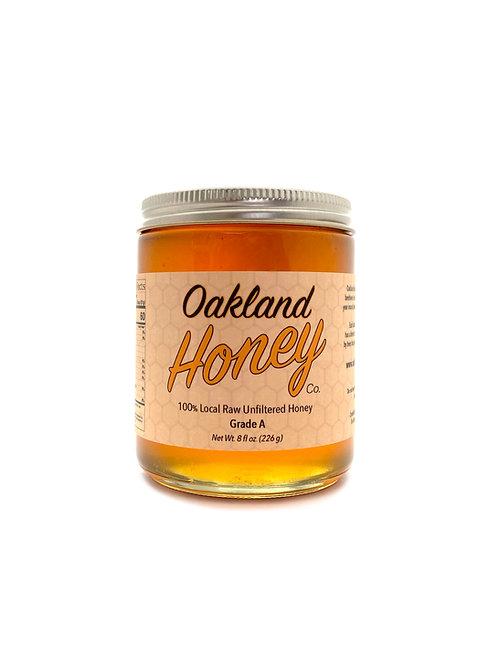 8 oz Raw Local Honey