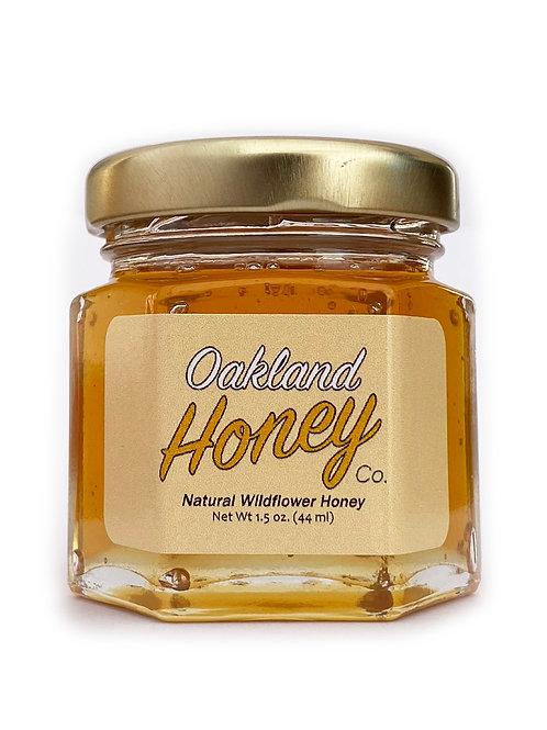 1.5 oz Raw Local Honey (4 Pack)