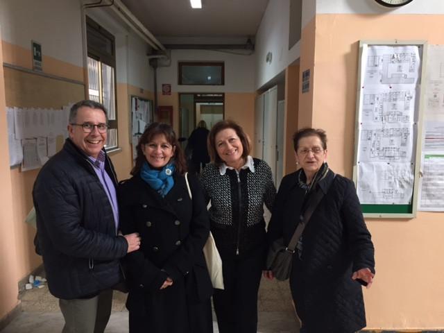 Mme Guzman, Mme Costanzo et M. Gaujac à la journée pour le français du 7 mars 2016