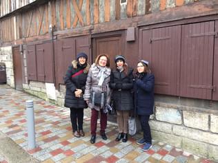 La Direction de l'Alliance Française de Reggio à Rouen