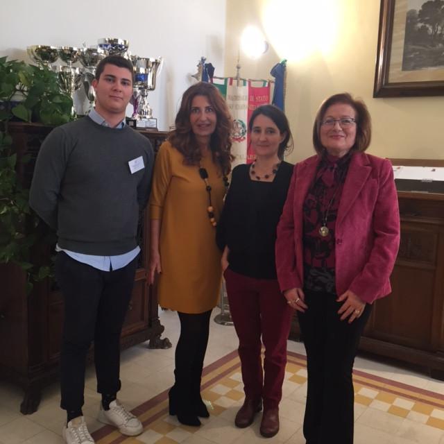 Mme Pinto, Mme Arena, Dirigente Scolastico Convitto