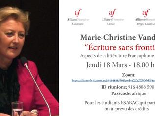 Marie-Christine Vandoorne Experte en projets culturels et artistiques,