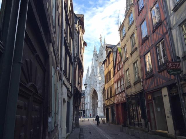 Rouen:Les maisons à colombages et St.Maclou