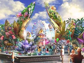lotus park, an amusement park mirage entertanment designed
