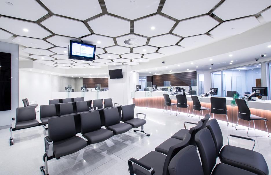 La Caisse du Complexe Desjardins par JBC Architectes