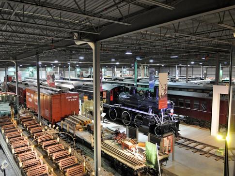 Musée ferroviaire canadien - Delson, St-Constant, 2003