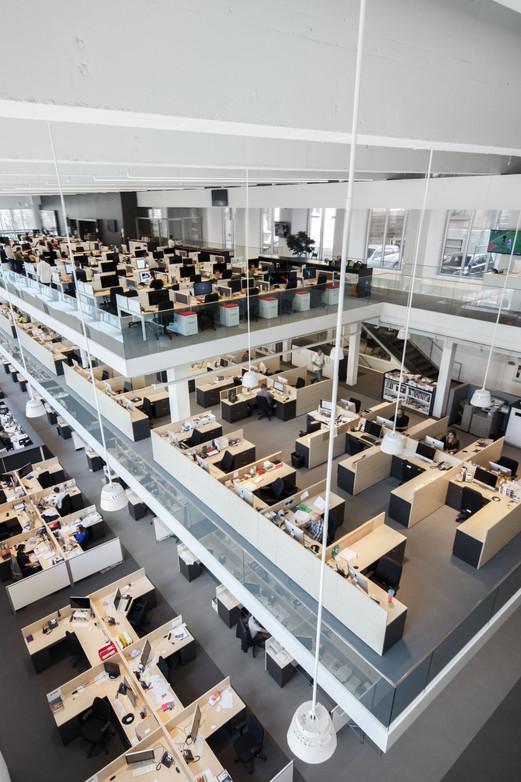 Bureaux La Presse par JBC Architectes