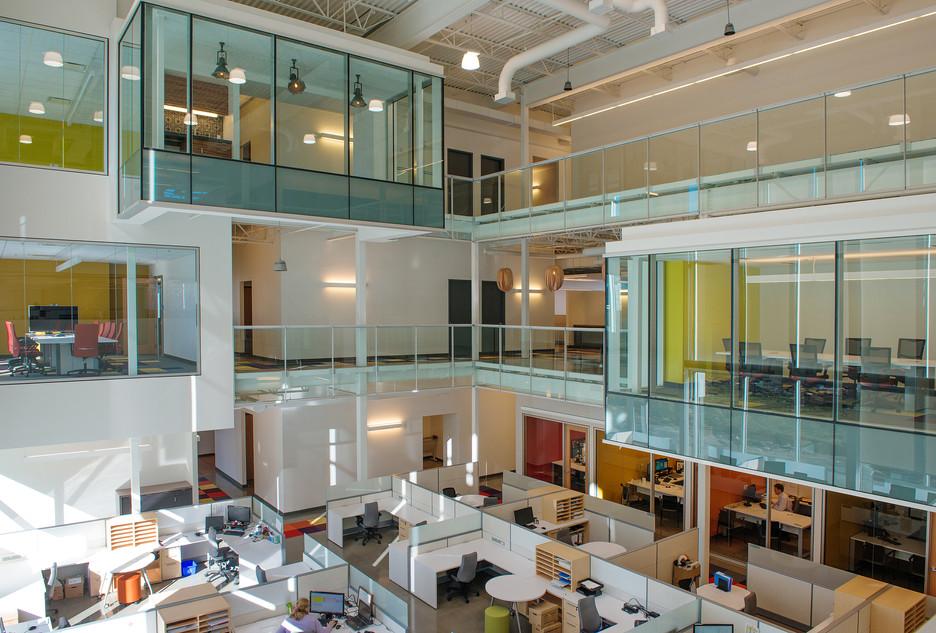 Siège social GCM Consultants par JBC Architectes