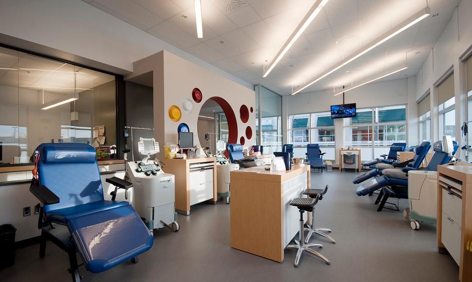 Centres de donneurs Héma Québec par JBC Architectes