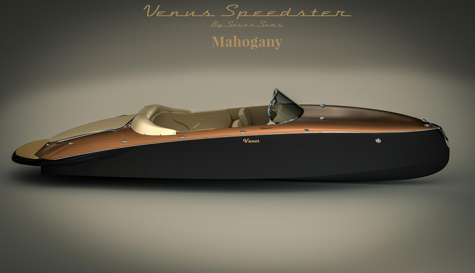 Venus Speedster Mahogany