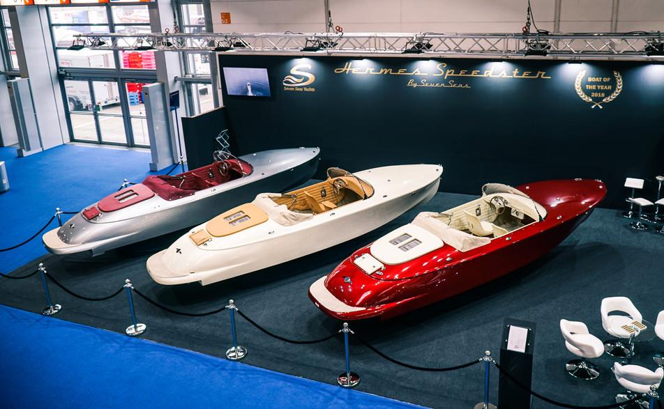 Hermes Speedster in Boot Dusseldorf