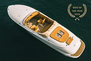 Hermes Speedster - Luxury Retro Speed boat