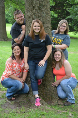 Danielle & her 4 kids