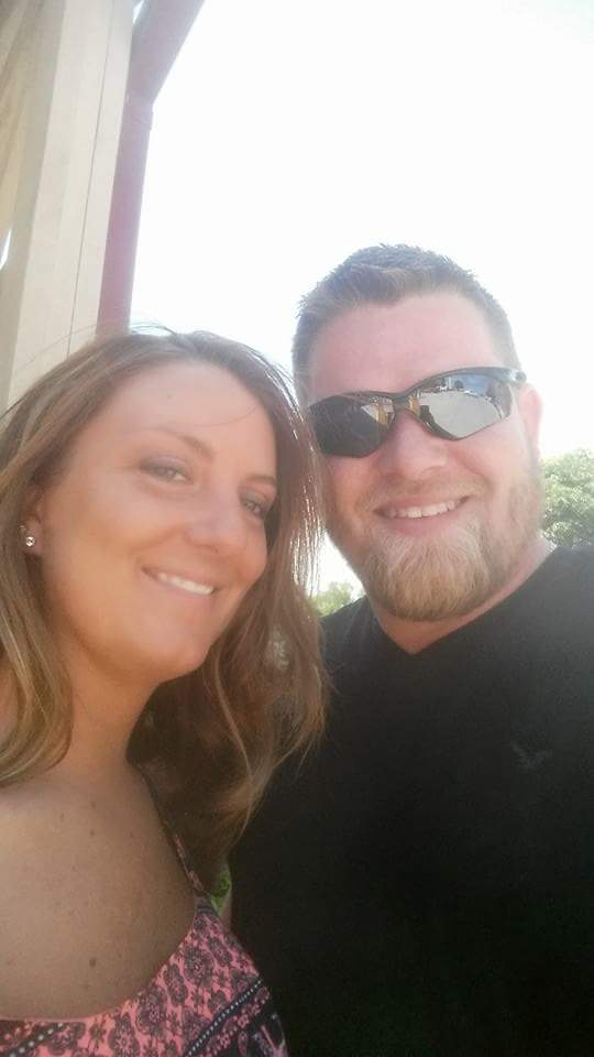 Danielle's son Justin & his wife Elizabeth
