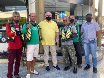 Superintendente da SMTT, Josenildo Souza, vai ao centro ouvir demandas dos arapiraquenses