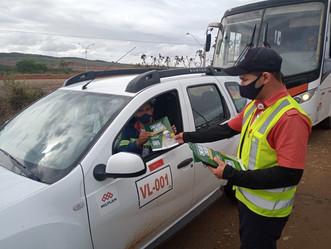Cheguei, Chequei: Mineração Vale Verde lança campanha contra COVID-19
