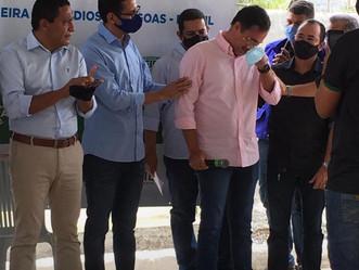 Palmeira dos Índios: emoção marcou primeiro dia de vacinação contra Covid-19